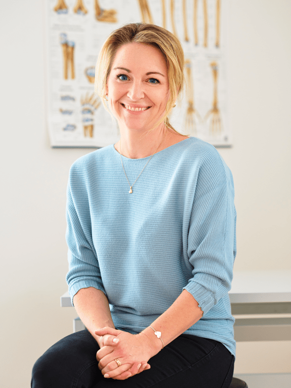 Handtherapie Veronika Parzl Porträt